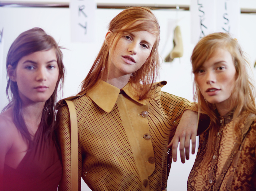 Backstage at the Michael Kors Spring Summer 2016 Show 10