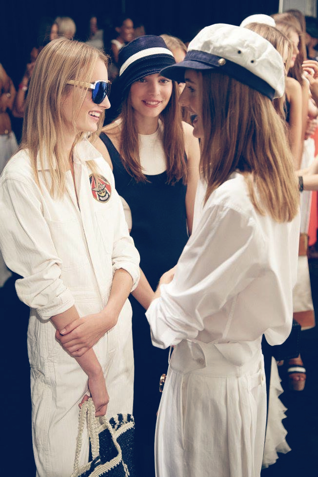 Backstage at the Ralph Lauren Spring 2016 Show 4