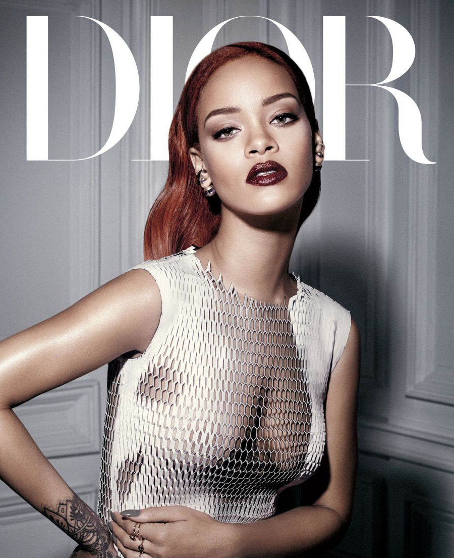 Rihanna Graces the Cover of Dior Magazine 1