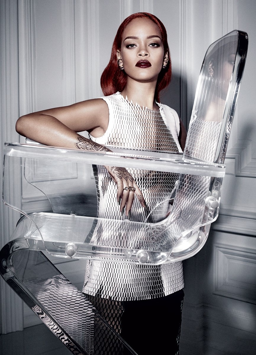 Rihanna Graces the Cover of Dior Magazine 9