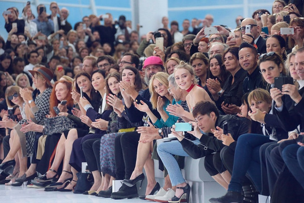 Front Row at the Chanel Spring Summer 2016 Show
