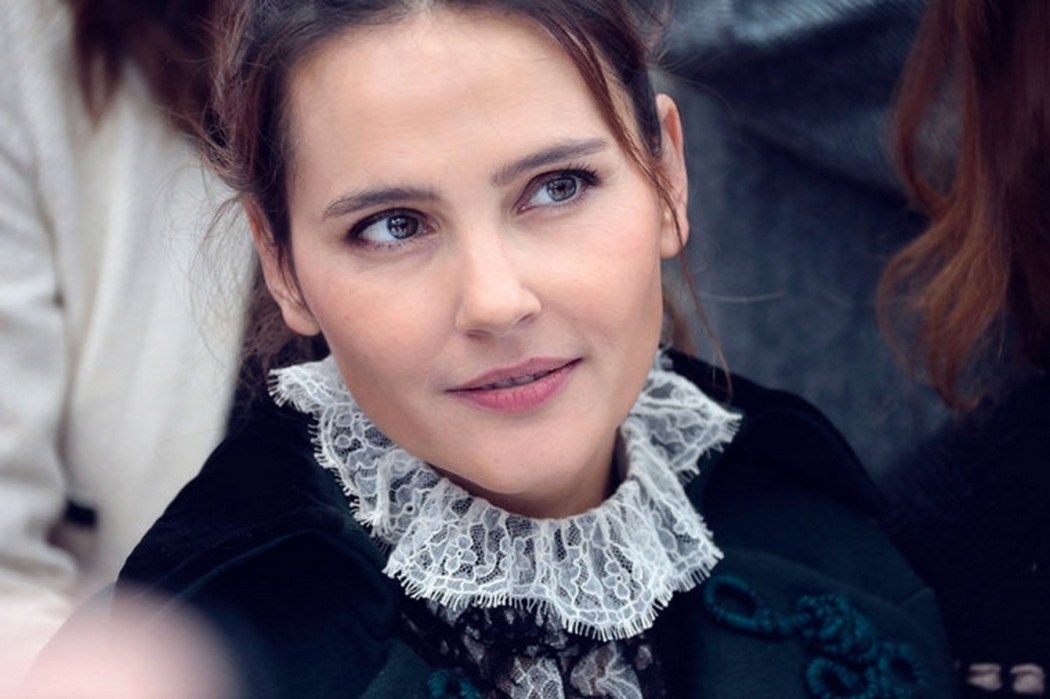Virginie Ledoyen at the Chanel Spring Summer 2016 Show