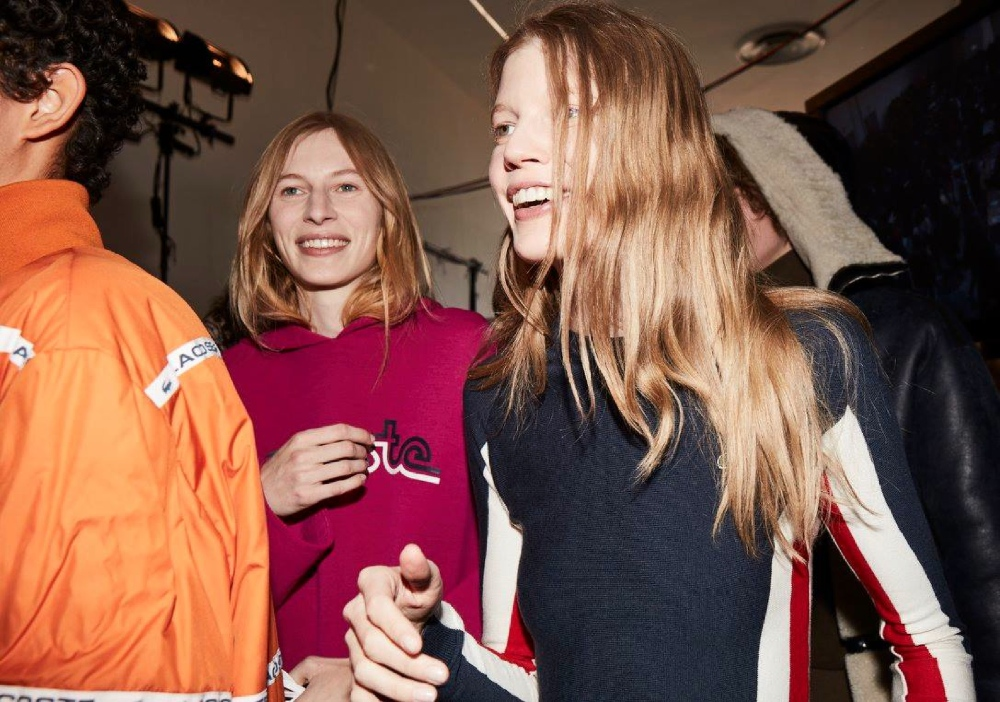 Backstage at the Lacoste Fall 2016 Show 9