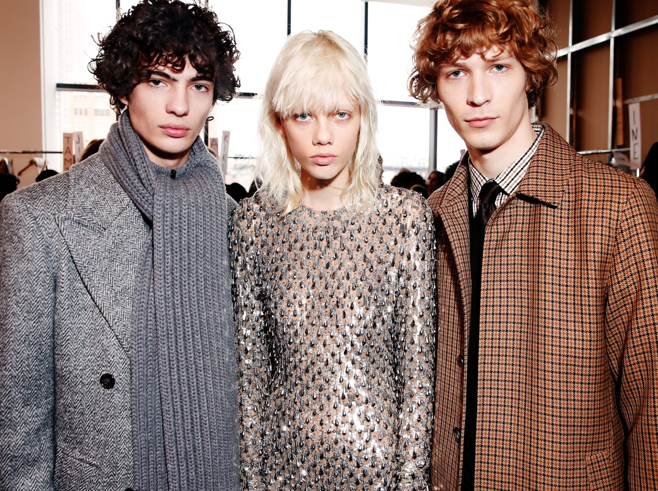 Backstage at the Michael Kors Fall Winter 2016 Show 8