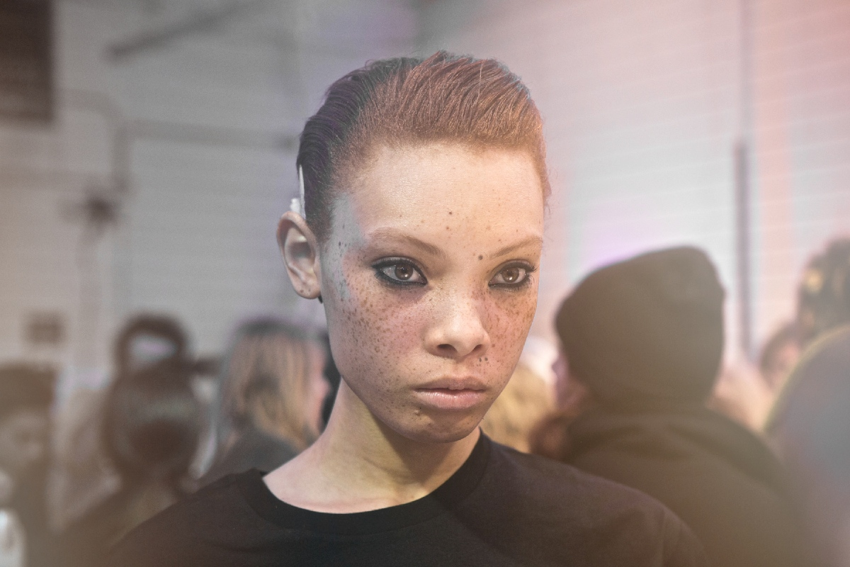 Backstage Beauty at The Alexander Wang Fall Winter 2017 Show 2