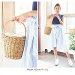 ラタン素材かごバッグ(バスケットバッグ)。安可愛いプチプラファッション神戸レタス2017春夏流行のトレンドアイテム