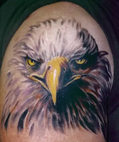 Special Eagle Tattoo Designs On Arm