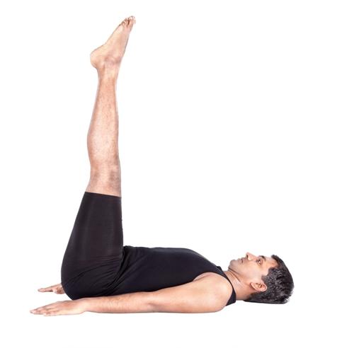 La pose à la jambe surélevée - Posture de <a href=