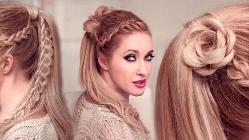 high ponytail hair