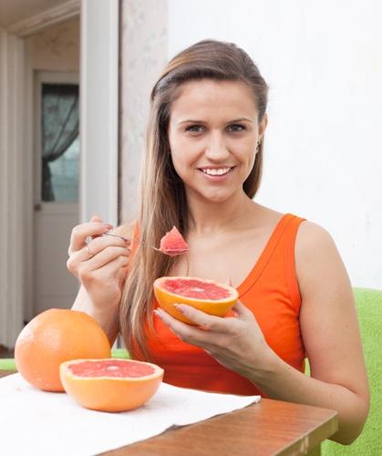 natural fat burning foods - Grapefruits