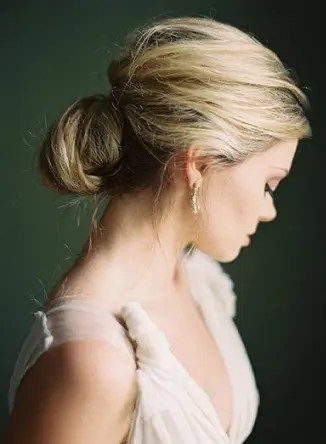 traditional hair bun styles