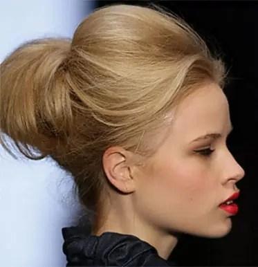 hair bun style women