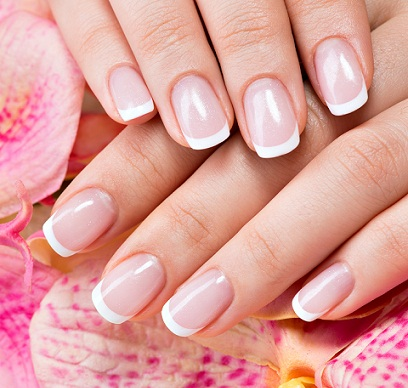 French manicure how to