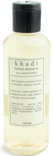 Khadi Herbal Shampoo Rose Sandal and Honey