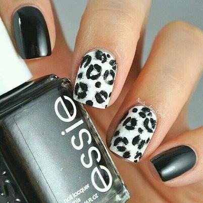 Leopard Nail Art2