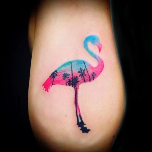 9 Stylish Amp Stunning Flamingo Tattoo Designs Styles At Life