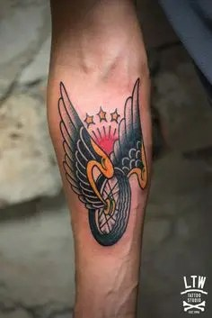 Imaginative Biker Tattoos Design