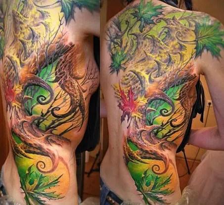 Bio Organic Tattoo Design