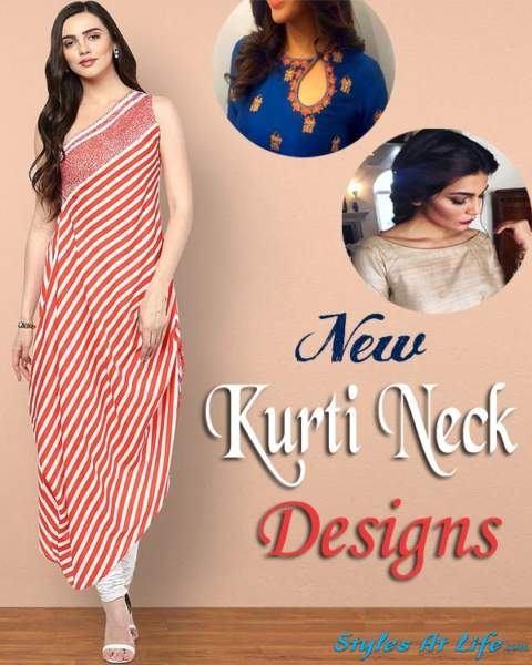 25 New Collection Of Kurti Neck Designs For Women In 2020