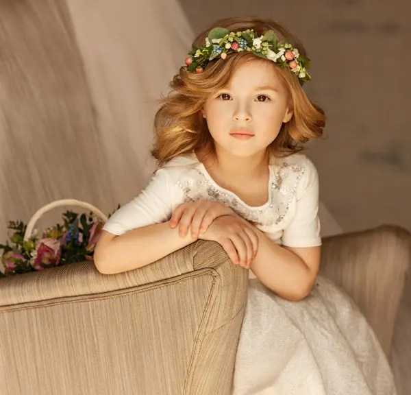 Princess Hair Makeover With Floral Band