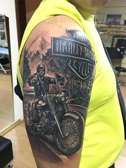 Biker Tattoo Designs 3
