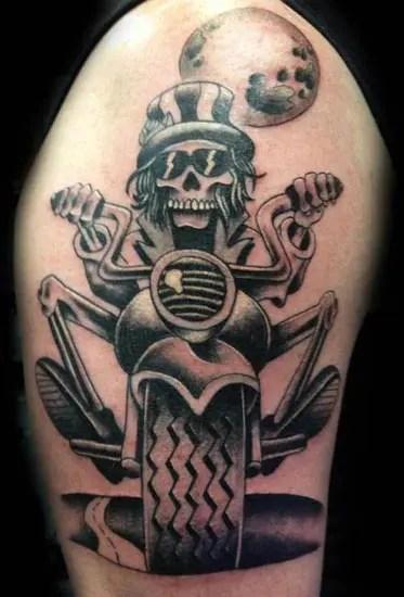 Biker Tattoo Designs 9