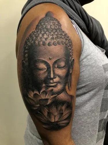 Best Buddha Tattoo Designs 5