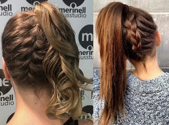 hair style girl simple and easy for college
