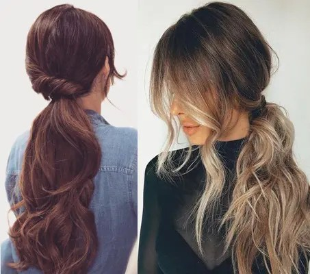 daily hairstyles for long hair for college