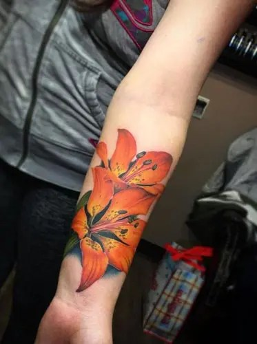 Lily Tattoos Designs And Their Meanings 7