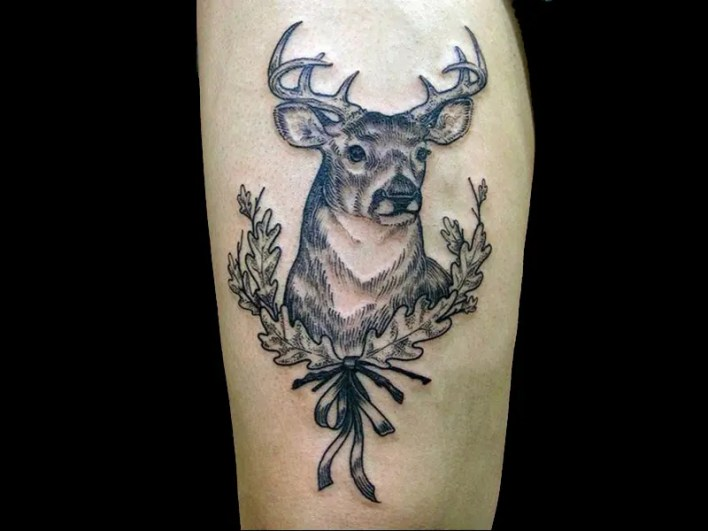 Best Deer Tattoo Designs And Pictures