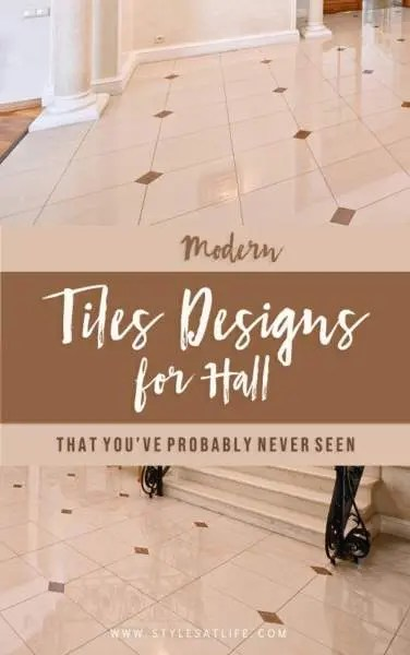 25 latest tiles designs for hall with