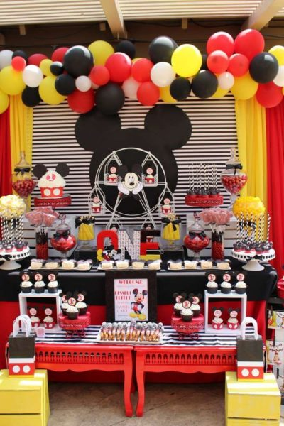 Mickey Bday Themes 5 Best Mickey Mouse Birthday Decorations