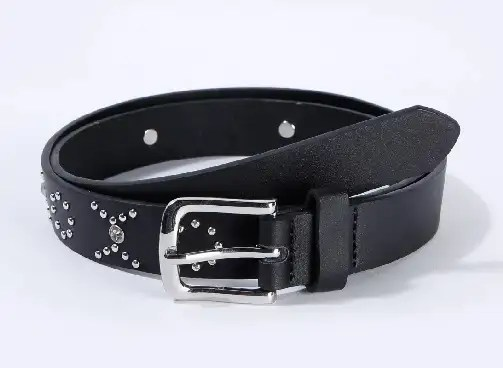 Metallic Studded Belt For Ladies