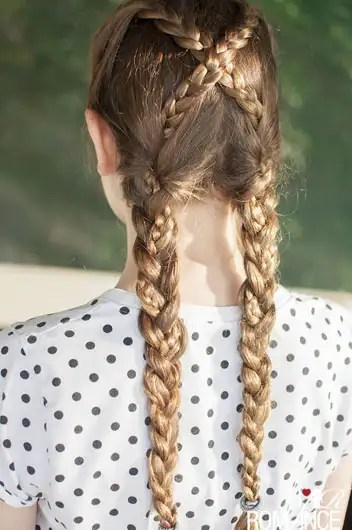 hairstyle for birthday party
