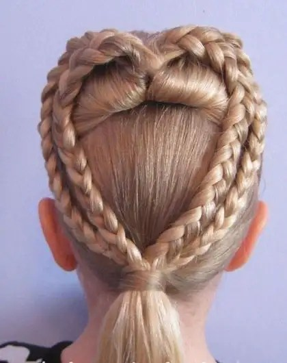birthday hairstyle for girls