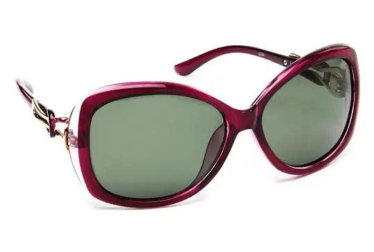 Oversized Round Full Rim Sunglasses