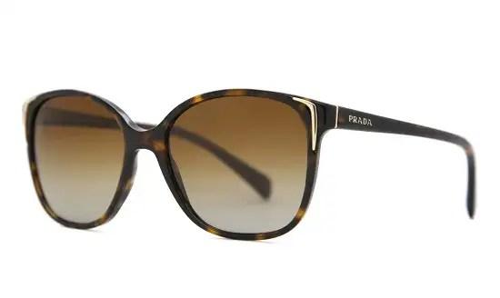 Prada Oversized Leopard Print Sunglasses