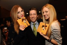 Chiara Ferragni of The Blond Salad Frederick Mannella. of LXR & Co.and Shea Marie of Peace Love Shea Getty Images