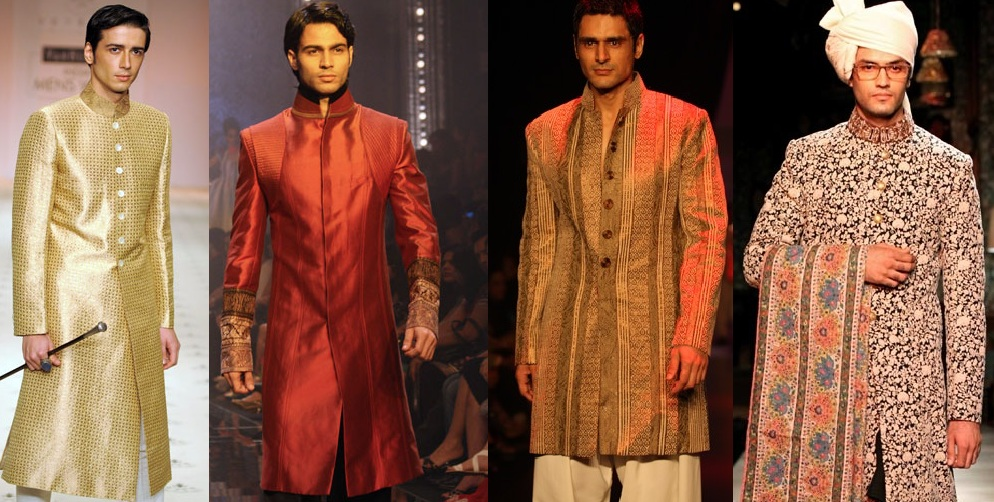 Indian Designer Sherwanis Designs 2018-19 Latest Collections