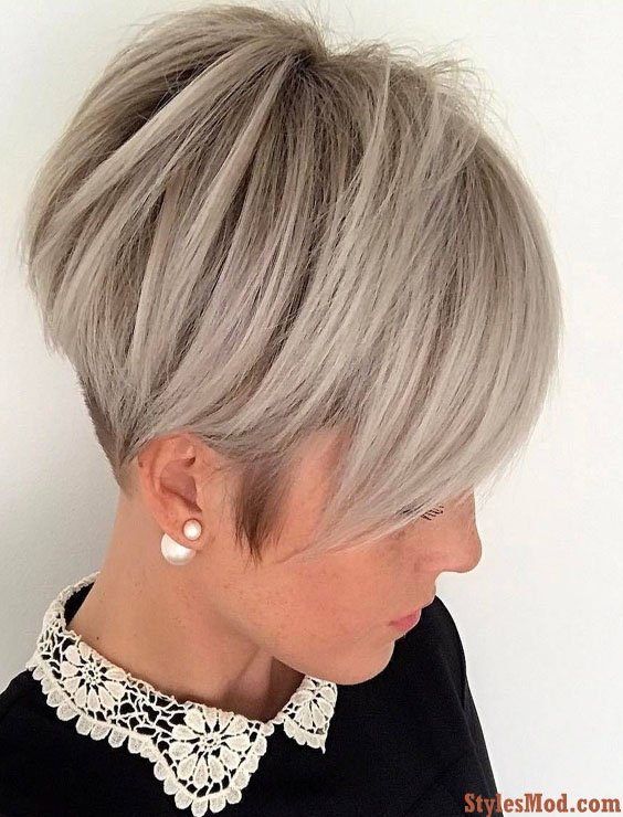 Brightest Ash Blonde Silver Hairstyles Hair Color For 2018 Stylesmod