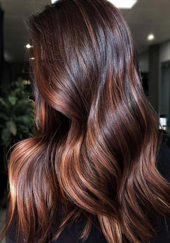 Gorgeous Chocolate Brown Hair Colors in 2018