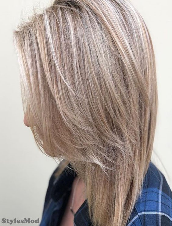 Fascinating Blonde Caramel Hair Color Highlight To Wear In 2018