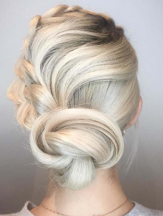 Gorgeous Bridal Updo Hairstyles Trends For 2018 Stylesmod