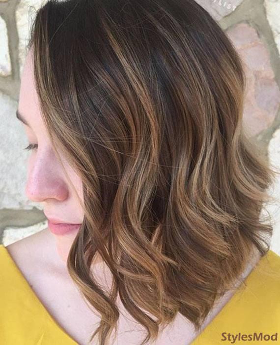 Brown Hair Color Ideas & Highlight
