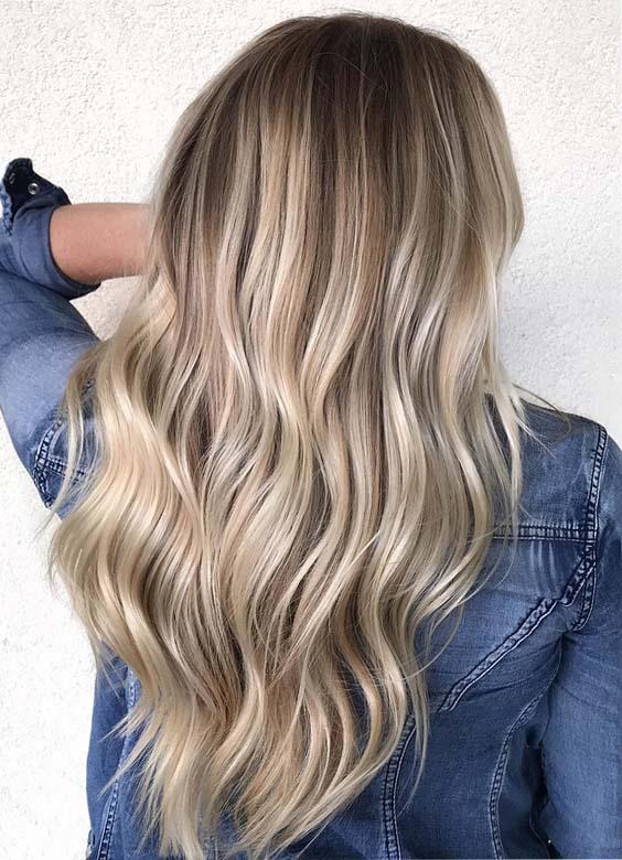 Gorgeous Blond Hair Color Ideas for 2018