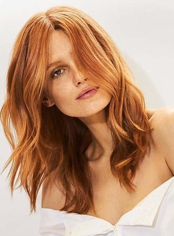 Gorgeous Copper Hair Color Shades for 2018