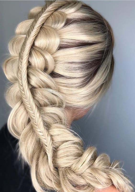 Lovely Double Dutch Braided Hairstyles for 2018