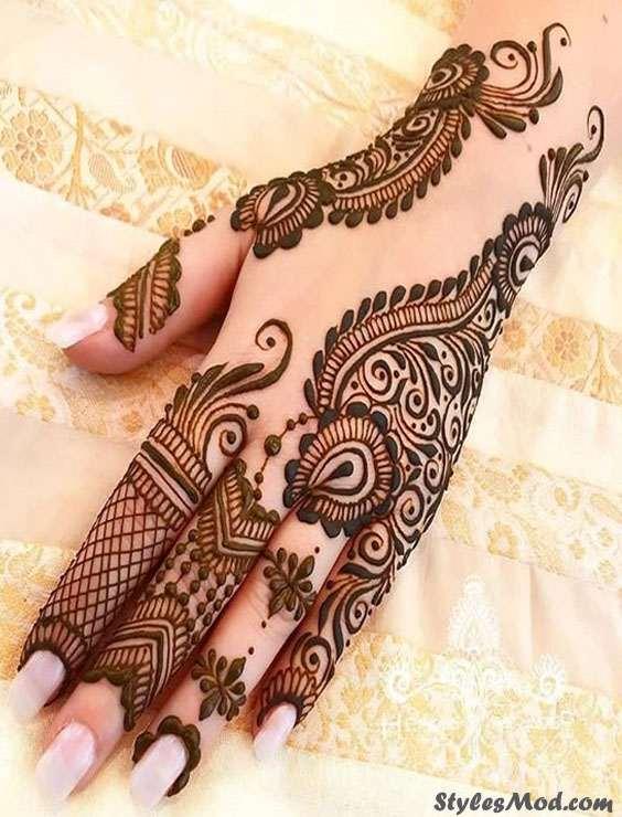 Fantastic Ideas Of Henna Mehndi Designs Styles For 2018 Stylesmod