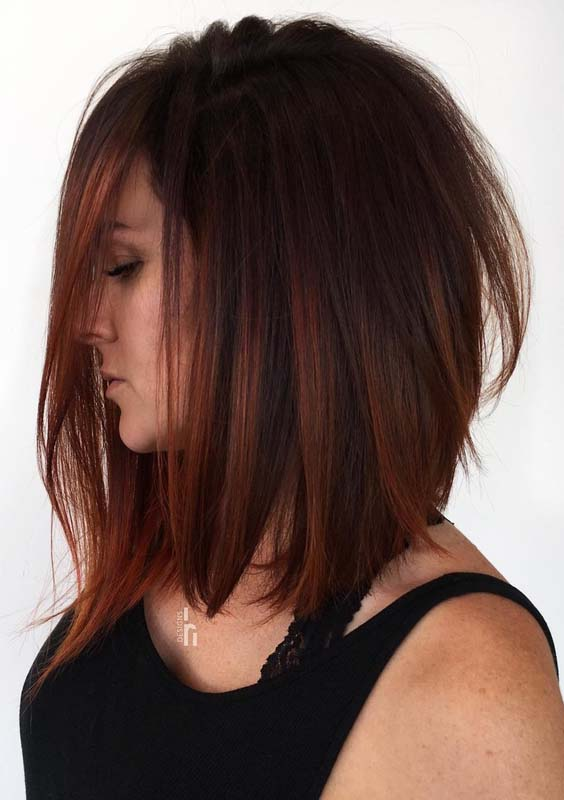 Modern Long Bob Hairstyles Amp Haircuts Trends In 2018